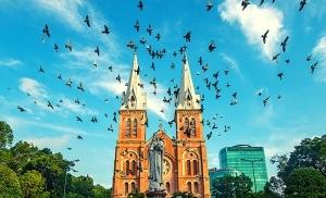 קתדרלת נוטר דאם סייגון וייטנאם
