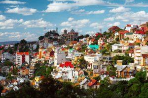 מבט על אטננבירו בירת מדגסקר
