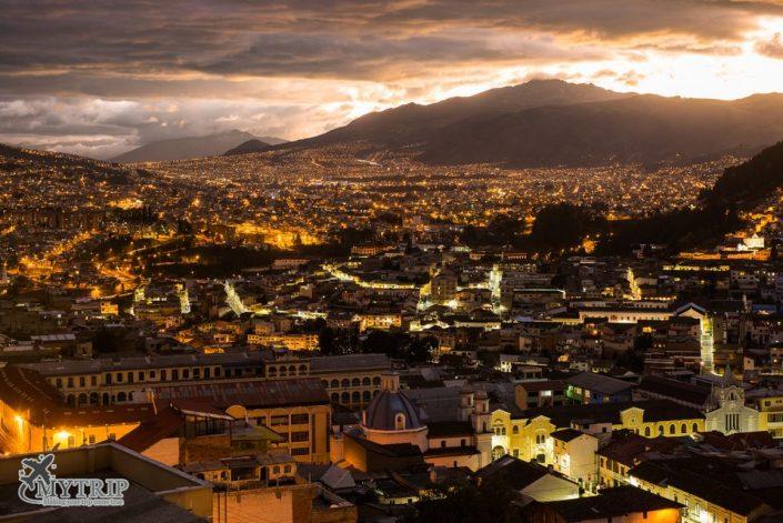 אקוודור בלילה - חיי לילה