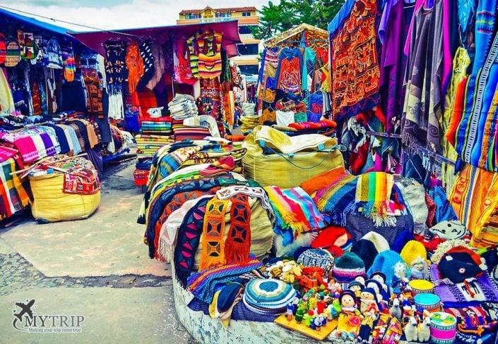 השוק האינדיאני באקוודור