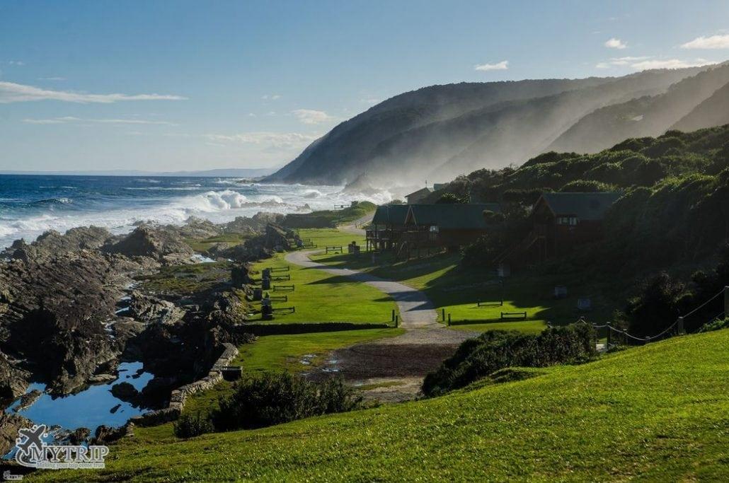חוף ולינה בטיול לדרום אפריקה