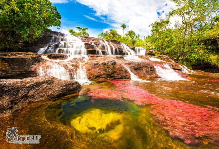 נהר הצבעים בקולומביה