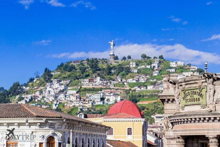 קיטו אקוודור מרכז העיר נוף מפארק 2