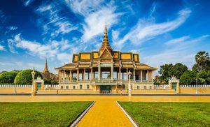 הארמון המלכותי בפנום פן קמבודיה