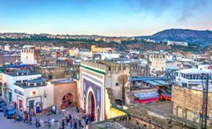 בניינים בעיר פס במרוקו