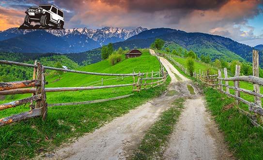 טיול ג'יפים לרומניה