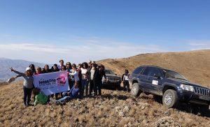 חזקה מהרוח - טיולי ג'יפים בארמניה לנשים בלבד