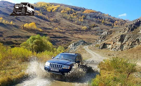 טיול ג'יפים לארמניה