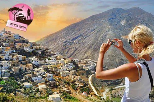 טיול נשים ביוון