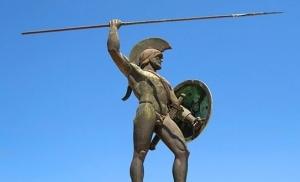 הפסל של לאונידיס ביוון