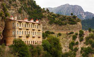 מנזר פרוסוס ביוון