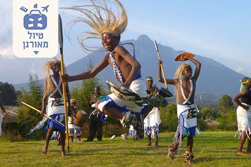 שבט בכפר הפולקלור ברואנדה