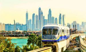 רכבת מונורייל בדובאי