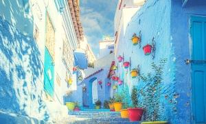 שכונה בעיר שפשואן במרוקו