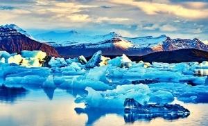לגונת Jokulsarlon איסלנד