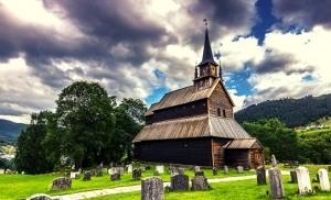 כנסיית kaupanger-stave בנורבגיה