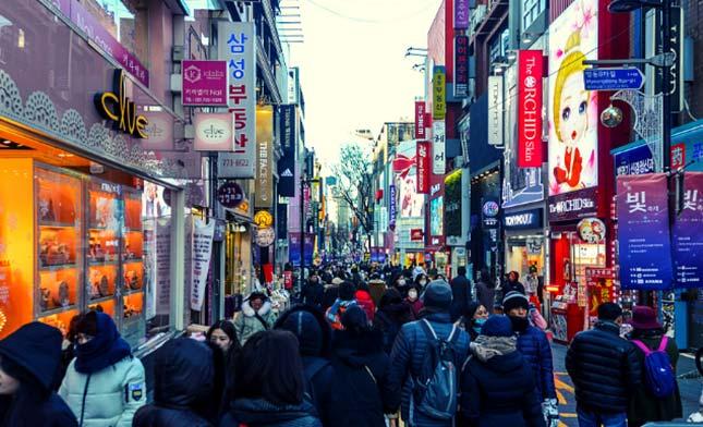 שוק נמדמון סאול דרום קוריאה