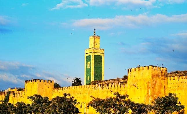 חומות העיר מקנס במרוקו