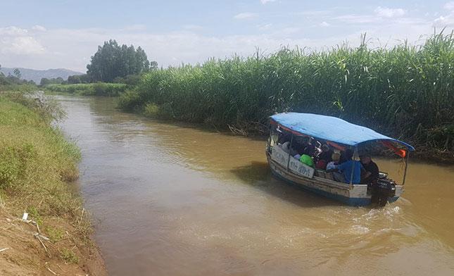 שייט באגם טאנה אתיופיה