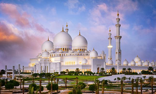 מסגד שייח זאייד אבו דאבי אמירויות