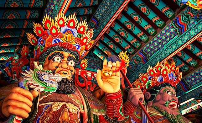 Sudeoksa Temple SOUTH KOREA