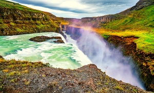 מפלי גולפוס באיסלנד