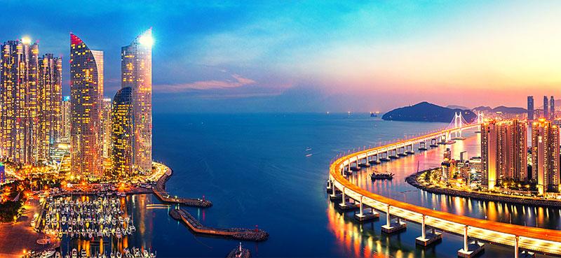 טיול לדרום קוריאה