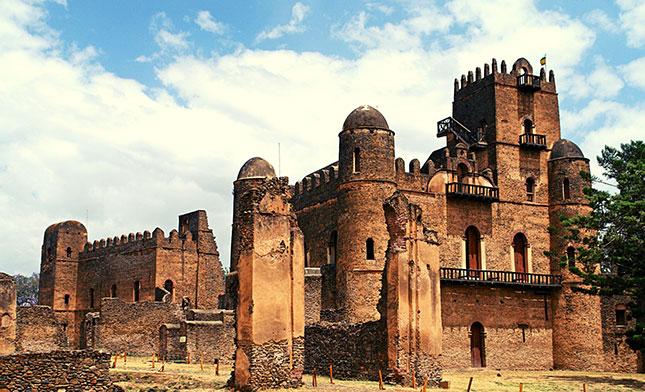 FASILADAS PALACE GONDAR ETHIOPIA