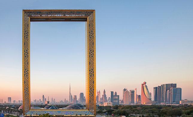 FRAME OF DUBAI