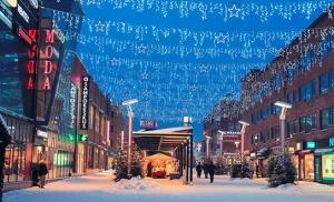 רובניימי פינלנד בחורף