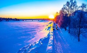 נהר Kemijoki ברובניימי פינלנד