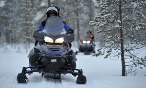 אופנועי שלג בפינלנד